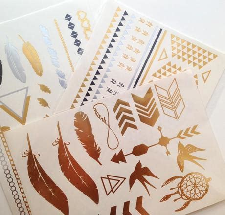 papilio tattoo paper review review metallic tattoos by shiny happy people paperblog