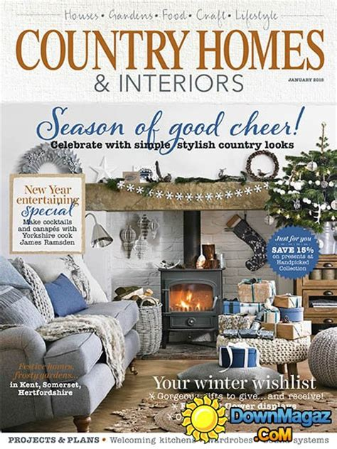 country home design magazines country homes interiors january 2015 187 download pdf