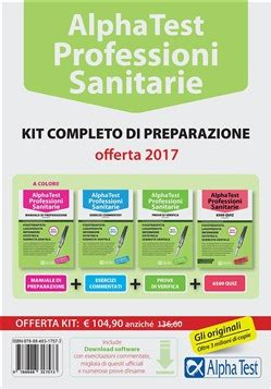test sanitarie libro alpha test professioni sanitarie di a lafeltrinelli