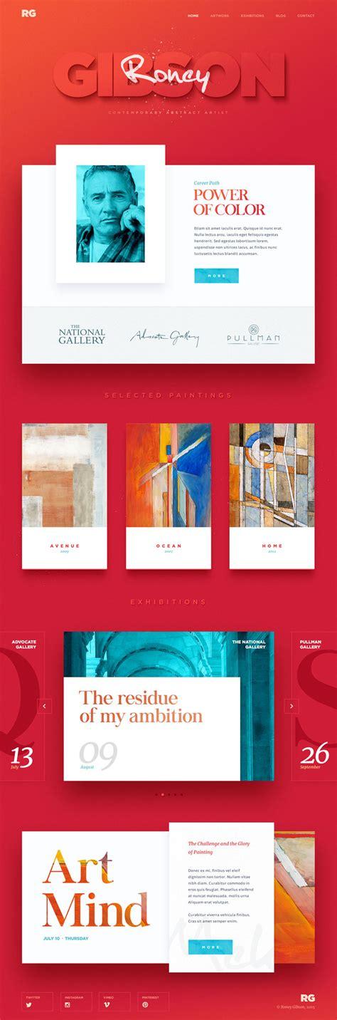 design inspiration web 2016 20 creative website design inspiration 2016