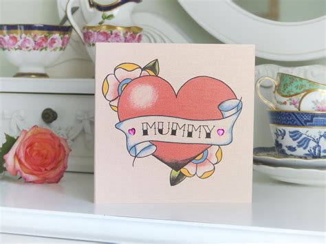tattoo alternatives vintage luxury alternative s day card