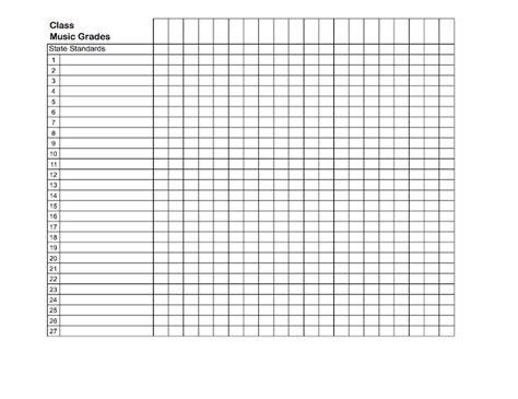 Search Results For Teacher Gradebook Sheet Calendar 2015 Grade Sheet Template