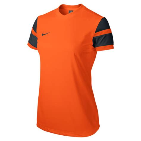 Womens Nike Trophy Ii Dri Fit Jersey Size L 100 Original 1 nike s trophy ii football jersey safety orange black