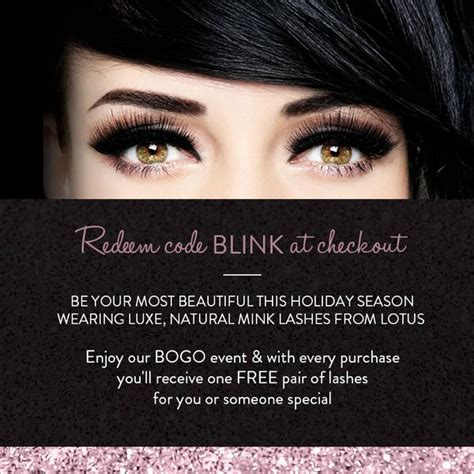 the makeup light pro discount redeem code blink at checkout lotus lashes promo code