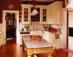 Red Country Kitchen Cabinets by Living With Color Red This Lovely Home