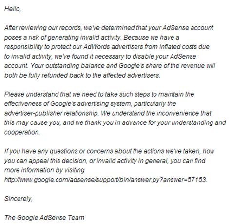 Rejection Letter When You Don T Get The 5 Thing You Don T Want To Hear About Money From Adsense Surviving After College