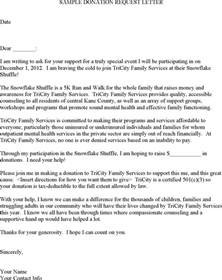 Charity Plea Letter charity plea letter charity plea letter donation request for letters
