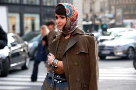 street style hair scarves 15 stylish ways to wear a silk scarf lauren messiah