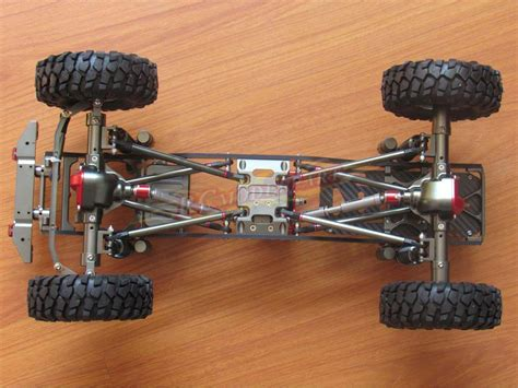 R C Mobil Rock 6146l M aolly rc scx10 1 10 scale 4wd rock crawler chassis frame