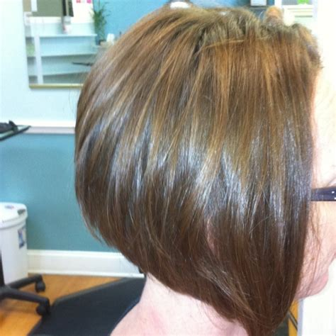 photos of an a line stacked haircut stacked bob hairstyles are often also called a line cutsor