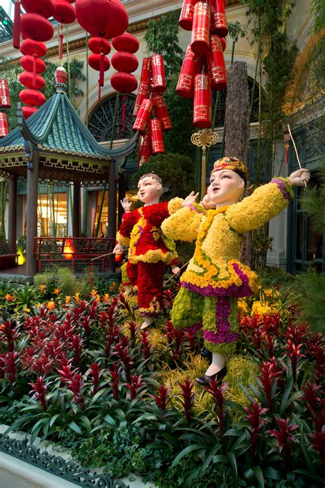 new year garden celebrate new year at bellagio s conservatory