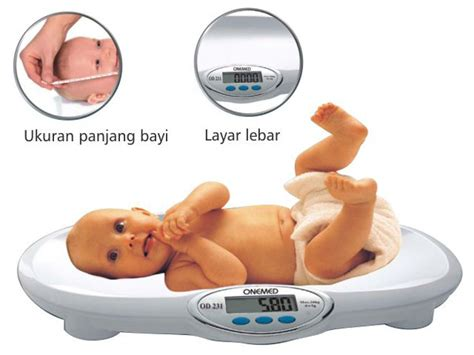 Timbangan Bayi Digital Onemed Od 231 B onemed health care products digital baby scale type
