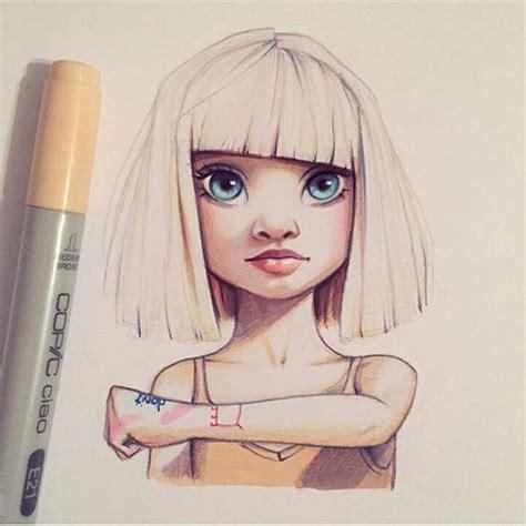 dibujos realistas tumblr resultado de imagen de christina lorre rihanna dibujos