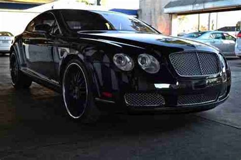 bentley interior black purchase used 2005 bentley continental gt coupe 2 door 6