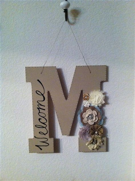 monogram letters home decor best 25 front door letters ideas on pinterest initial