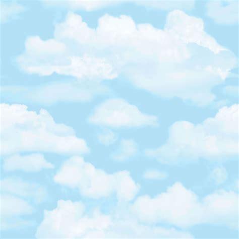 wallpaper blue cloud fresco wallpaper cloud 9 blue at wilko com