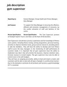 Fitness Center Manager Cover Letter by Cover Letter For Manager Cover Letter Templates