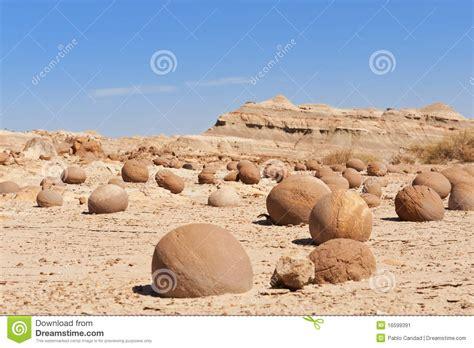 Stone Desert stone desert in ischigualasto argentina stock image