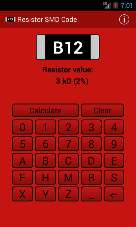 smd resistor code eia resistor smd code calculator android apps on play