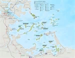Boston Harbour Map by Boston Harbor Islands Maps Npmaps Com Just Free Maps