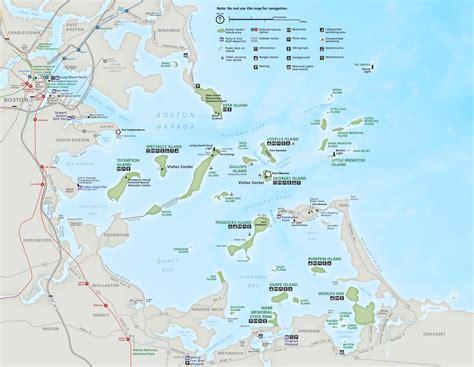 map of islands boston harbor islands maps npmaps just free maps