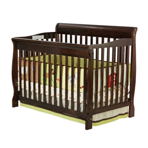 Convertible Crib Espresso On Me On Me Ashton 5 In 1 Convertible Crib Espresso Pricefalls