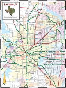 fort worth maps map fort worth