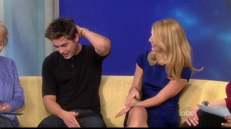 claire danes zac efron claire danes and zac efron interview quot the view quot 2009