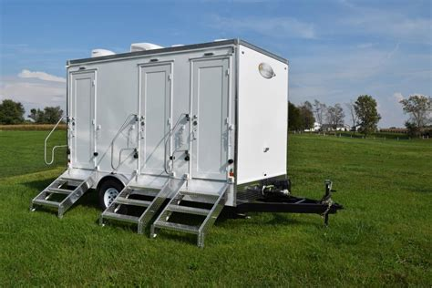 portable bathroom for sale rich restroom trailers rugged reliable and refined
