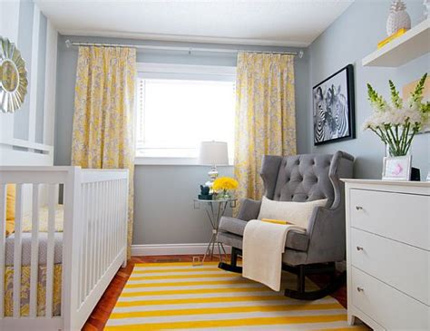 yellow baby bedroom nurseries colors and decorations ideas