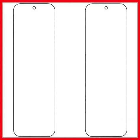 Free Printable Bookmark Template Word Pdf Microsoft Office Bookmark Template