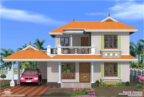 4 Bedroom Kerala Model House Design Kerala Home Design And Floor Plans