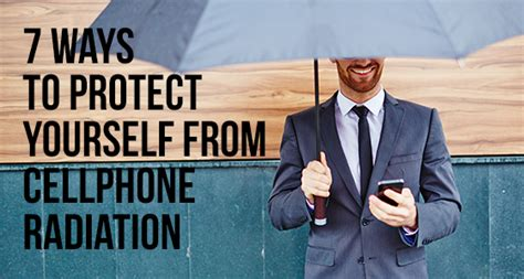 7 Ways To Sell Yourself During An by 7 Ways To Protect Yourself From Cellphone Radiation