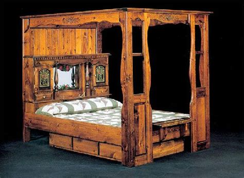 Canopy Waterbeds 17 Best Images About Waterbeds On Captains Bed