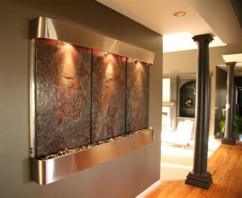 home wall fantastic ideas of best wall decorating for entry room with concrete also stainless steel