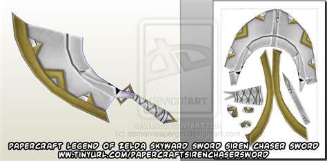 Sword Papercraft - ninjatoes papercraft weblog d l papercraft
