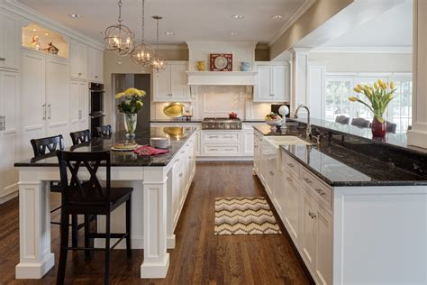 kitchens with dark cabinets and light countertops better together design trends that pair well together