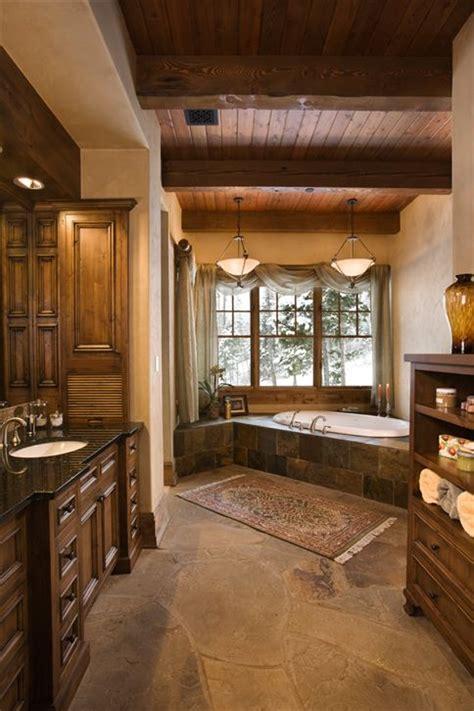 Rustic master bath decozilla