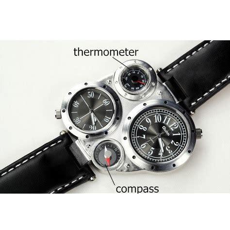 Jam Sebastian Jam Jalan Jam Analog jam tangan unik multifungsi dengan kompas dan termometer harga jual