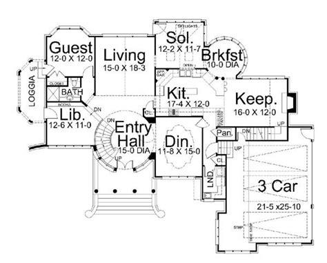 Castle Green Floor Plan by House Kildare Castle House Plan Green Builder House Plans