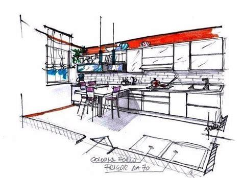 disegno di una cucina cucina rettangolare idea di progetto