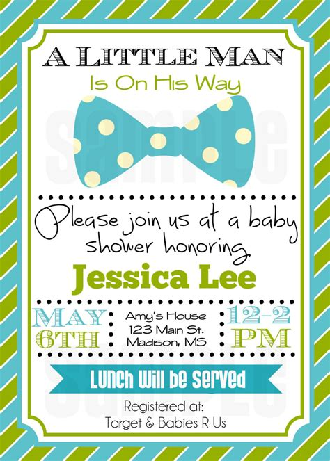 Baby Invitations by Baby Shower Invitation Baby Boy Shower Invitation