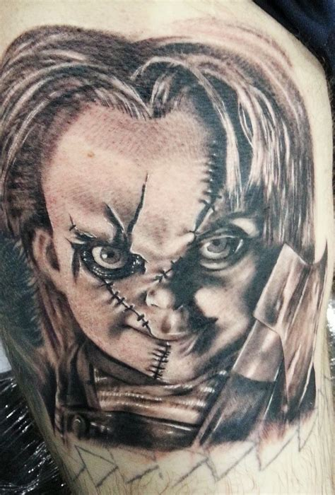 bride of chucky tattoo 1000 ideas about chucky on tattoos