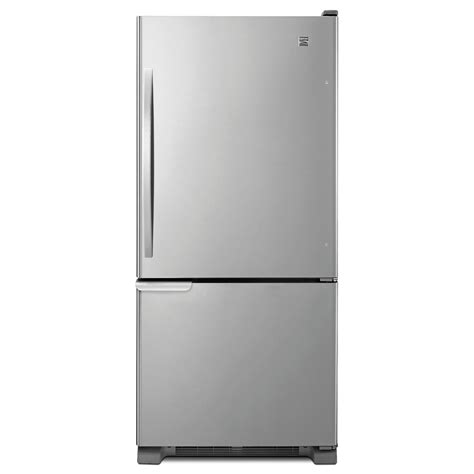 Kenmore Door Bottom Freezer kenmore 19 cu ft single door bottom freezer refrigerator