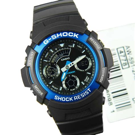 casio g shock mens sports aw 591 2adr