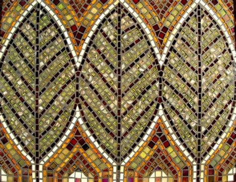 Mosaic Pattern On Leaves | mosaic leaves avente tile s coverings board pinterest