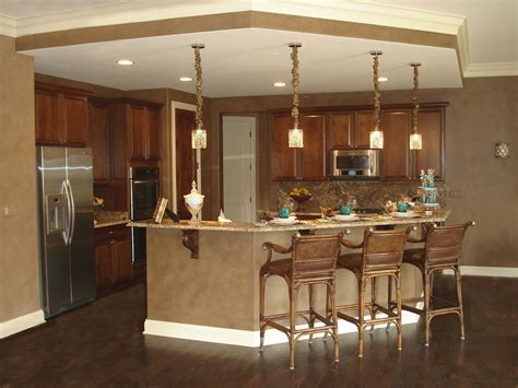 Open Floor Plan Kitchen Klm Builders Inc Klm Builders Custom Ranch Model The Sonoma At Thousand Oaks In