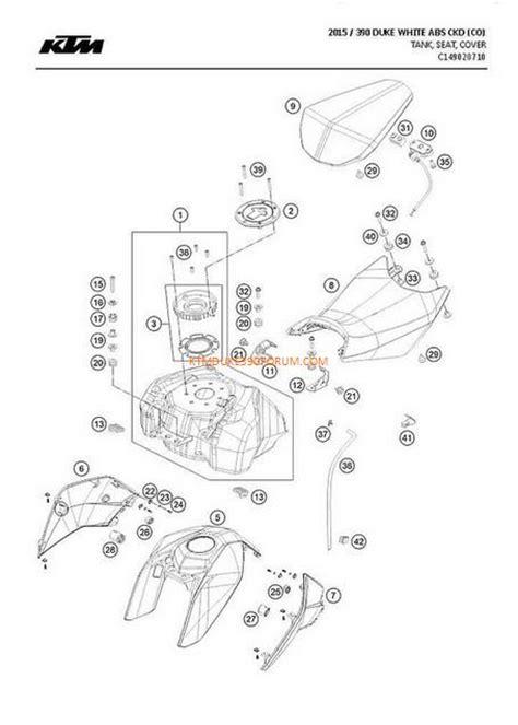 ktm parts diagram ktm duke 390 parts list diagram ktm duke 390 forum
