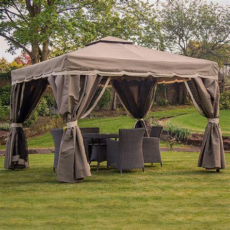 gazebo firenze gazebo pavilion florence 3x3 mtr fully waterproof canopy