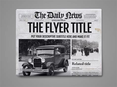 classic newspaper template classic newspaper template choice image free templates ideas